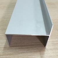现货净化铝型材50窗框 老式门料