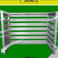 防腐蚀极好的铝合金木纹空调外机保护罩厂家