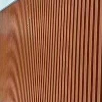 7天酒店墻身造型鋁方通↓廠家