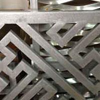 九江市门头外型铝窗花订货价钱