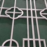 窗戶裝飾仿古木紋鋁窗格,鋁花格生產廠家