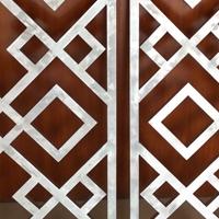 外墙铝木纹板-热转印木纹铝单板定制