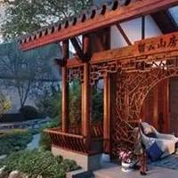 仿木纹铝花格 艺术窗花 高端仿古装饰材料