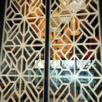 吉安餐厅隔断铝窗花订货价格
