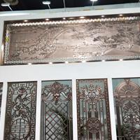 铝合金雕花铝窗花焊接铝花格定制厂家