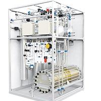 水電解制氫機進口10立方氫氣發生器電解槽