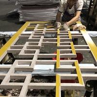 仿古收费站木纹型材铝护栏 复古铝花格