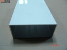 高等03铝方管广告装饰矩形管铝材
