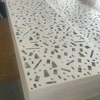 白色雕花铝单板佛山厂家2.0mm厚