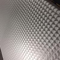 磨花铝板镭射花纹铝板的用途