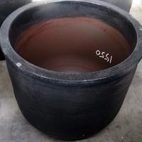 營口化鋁石墨坩堝,500公斤熔鋁坩堝