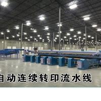 戴科优供应全新型铝型材连续木纹转印生产线