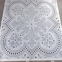 石家庄-雕花铝天花-艺术镂空铝单板厂家直销