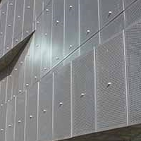 吉林松原艺术冲孔铝单板-室内外冲孔铝单板