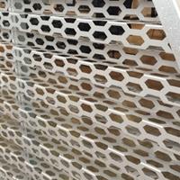 奥迪4s店装饰瓦楞铝板