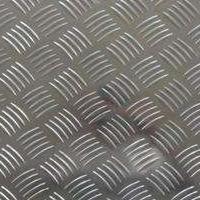厂家优质防滑五条筋铝板花纹铝板、压花铝板、