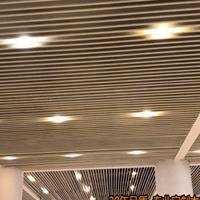 木纹弧形铝方通厂家定制-铝方通