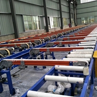 冷床生产线安装,轮带式冷床生产线