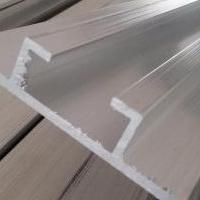 厂家供应铝合金角铝滑槽根据图纸定做加工