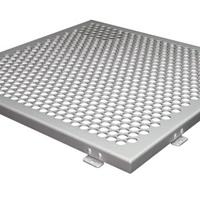 辽宁大连幕墙冲孔铝单板-冲孔造型铝单板