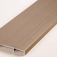 厂家生产铝合金踢脚线型材诚招代理