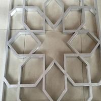 浙江新农村改造 复古 木纹铝窗花厂家