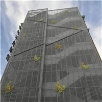陕西宝鸡氟碳冲孔铝单板-冲孔铝单板定制