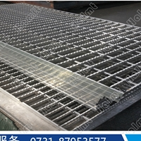 厂家供应铝格栅和铝踏板  格栅走道