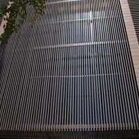 供应商铺门头招牌铝方通 玄色型材铝方管
