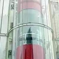 供应强大钢结构观光电梯井道施工