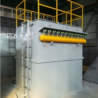 山青水秀生物质锅炉颗粒除尘器加喷淋塔价格