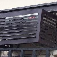永州木紋鋁空調外機防塵罩廠家