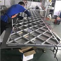 古典艺术铝窗花-木纹铝窗格生产厂家