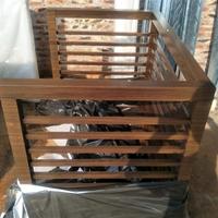 永州木纹铝制空调外机罩价格