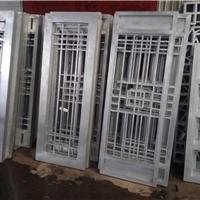 復古鋁花格 木質色鋁花格 鋁窗學校改造