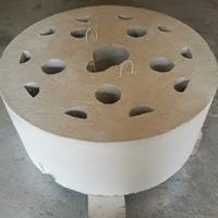 熔铝炉用烧嘴分流盘预制块,火口专用浇注料