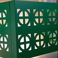 雕刻铝空调罩镂空铝空调罩