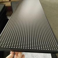 供应吊顶铝天花 300X1200黑色冲孔铝扣板