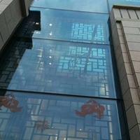 福建龙岩艺术铝窗花 仿木纹铝窗花