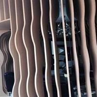 深圳弧形铝方通幕墙供应商 异型铝方通装饰