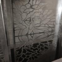 鹰潭木纹铝窗花隔断 型材铝窗花厂家