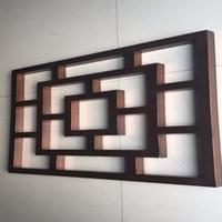 河北石家庄木纹型材铝方管焊接铝窗花