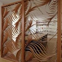 贵州黔南木纹铝窗花 方管焊接铝窗花