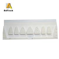 铝液临盆铝板带用铸轧铸咀板