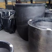 2000#熔铝坩埚上温度快使用寿命高