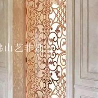 复古中式青古铝板雕刻艺术屏风厂家