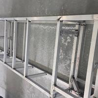 鋁型材框架焊接擠壓鋁框架型材