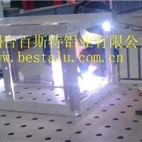专业铝型材结构框架焊接加工