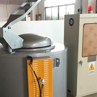惠州翻砂铸造电熔铝炉 优良坩埚化铝炉批发