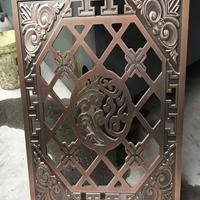 柳州鋁合金窗花防盜網裝飾 焊接鋁窗花裝飾